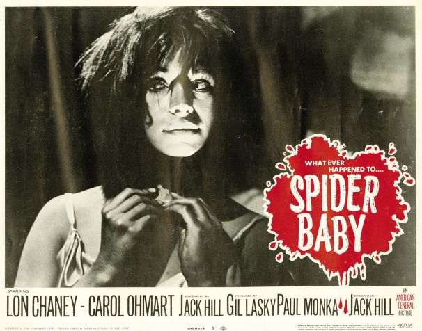 spider baby lobby