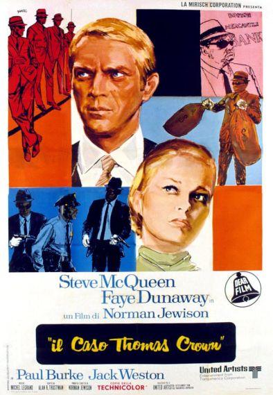 thmas crown affair poster