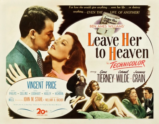 LEAVE HER TO HEAVEN - American Poster 3