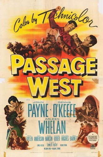 Passage-West one sheet