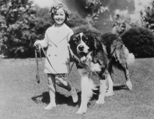 shirley temple and saint