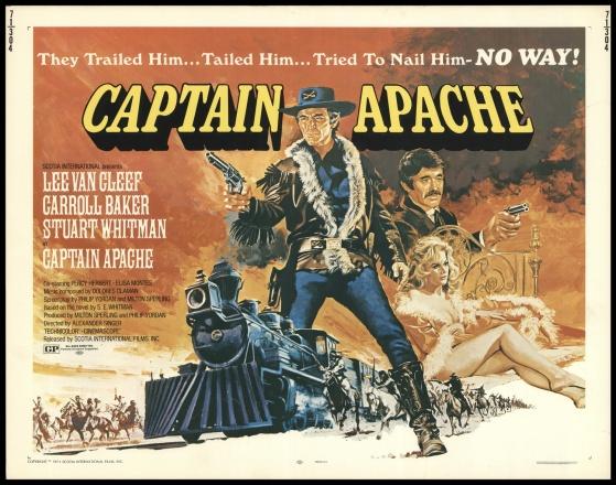 captain apache half sheet