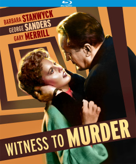 witness to murder bluray
