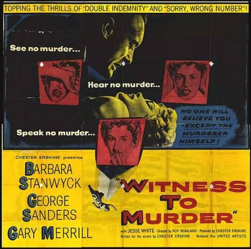 witness to murder half sheet