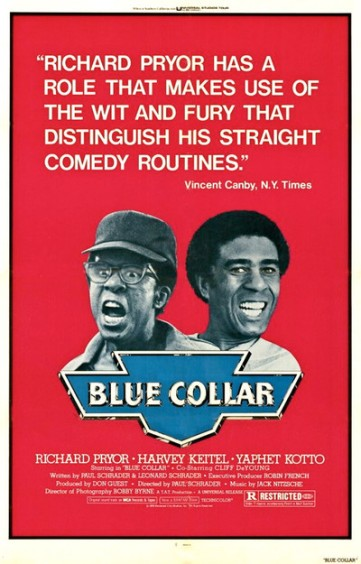 blue collar poster