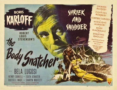 body snatcher half sheet