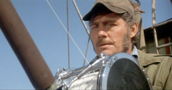 Jaws shaw as quint