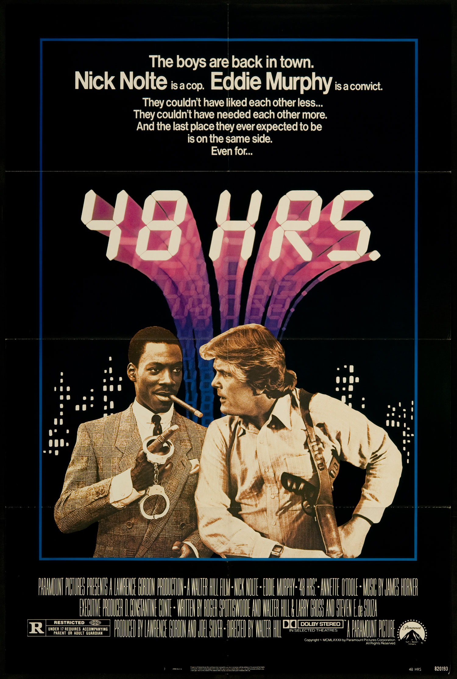 Directed By Walter Hill The Posters Mike S Take On The