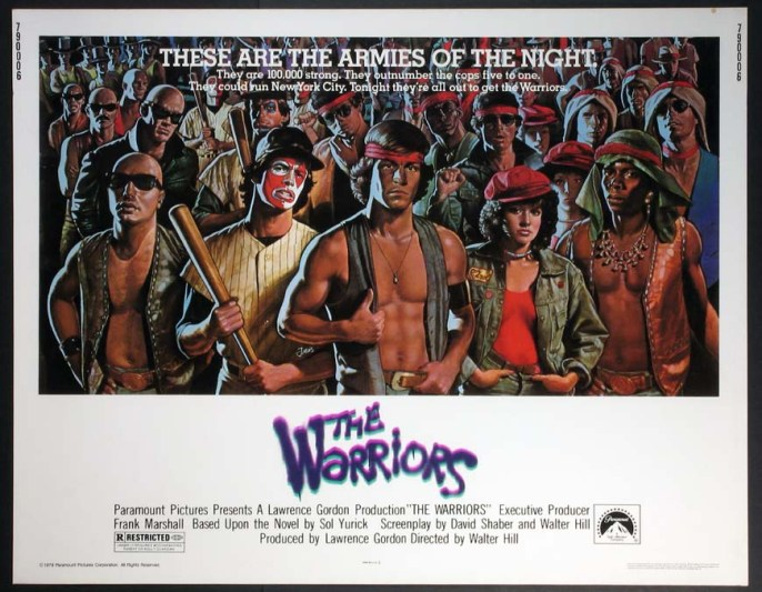 The Warriors Movie Poster 3