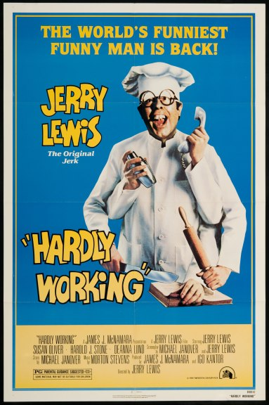 hardly-working-poster