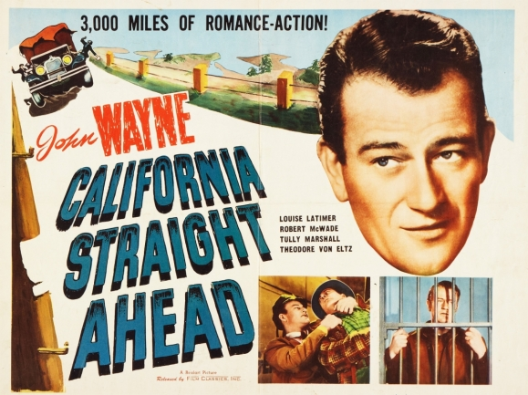 california-straight-ahead-poster