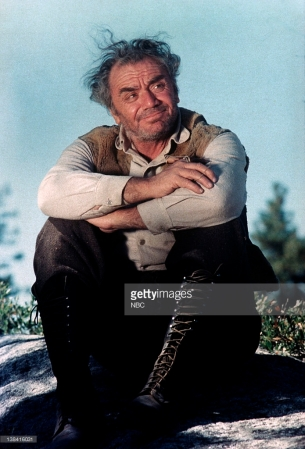 "LITTLE HOUSE ON THE PRAIRIE -- ""The Lord Is My Shepherd: Part 1 & 2"" Episode 13 & 14 -- Aired 12/18/1974 -- Pictured: Ernest Borgnine as Jonathan -- Photo by: NBCU Photo Bank"