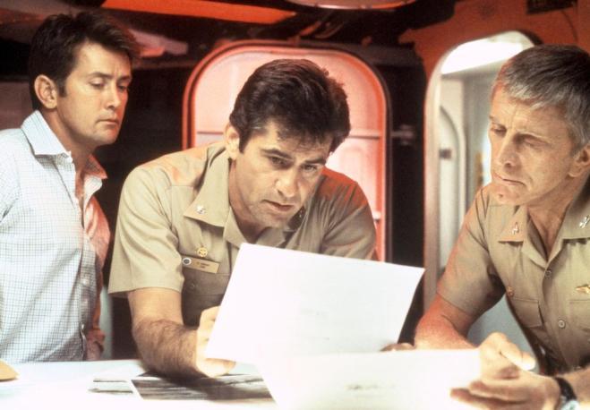 THE FINAL COUNTDOWN, Martin Sheen, James Farentino, Kirk Douglas, 1980, (c) United Artists
