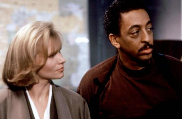 EVE OF DESTRUCTION, Renee Soutendijk, Gregory Hines, 1991, (c)Orion Pictures
