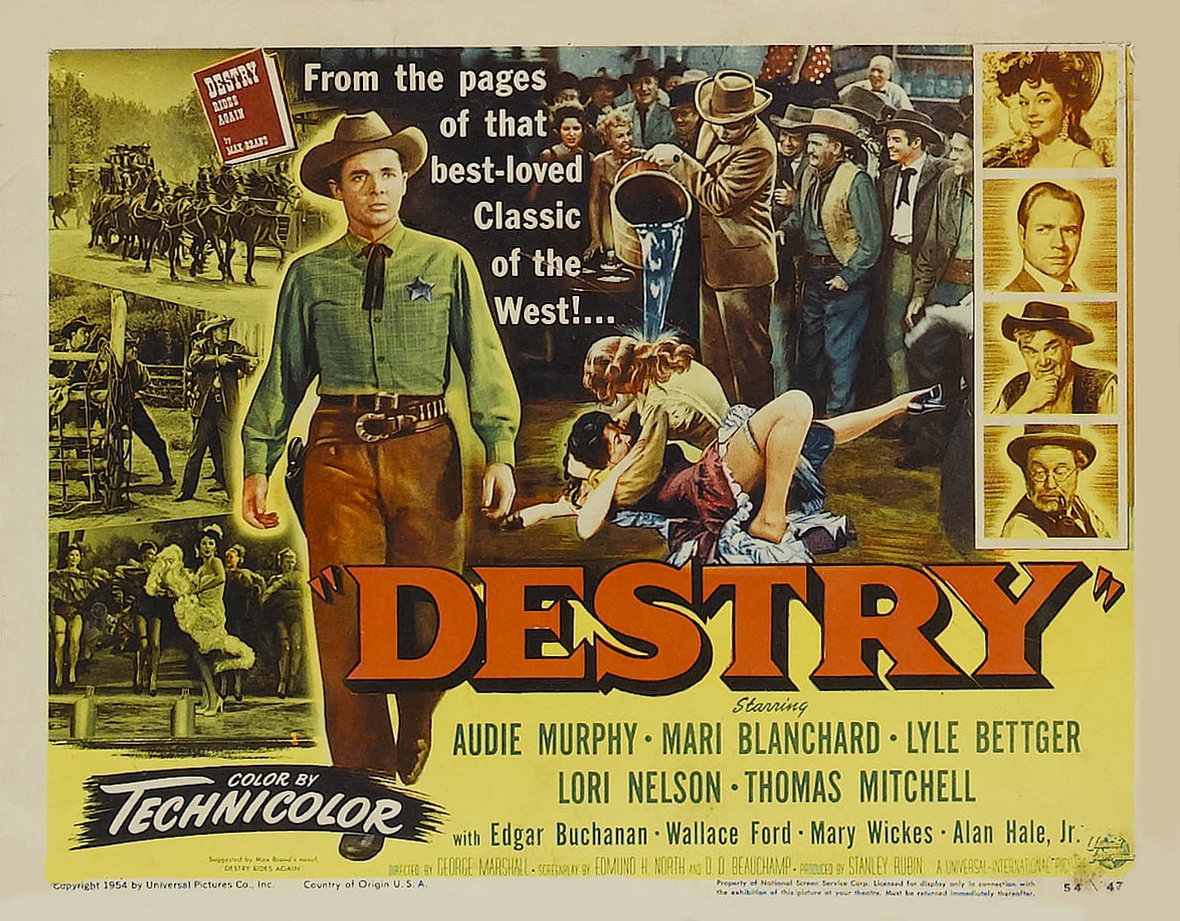 Destry (1954) – Mike's Take On the Movies ………. Rediscovering Cinema's Past