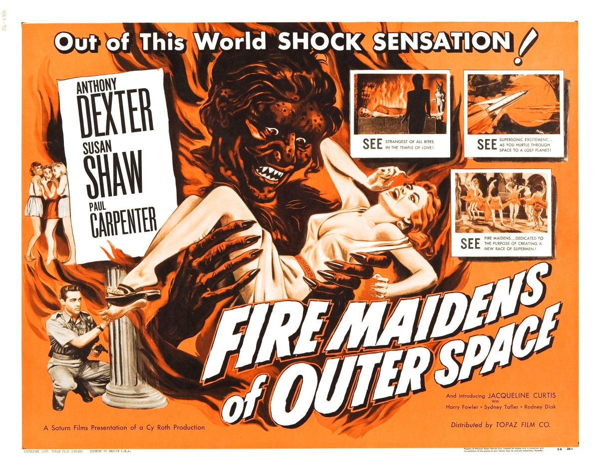 Fire Maidens Of Outer Space   (1956)